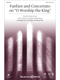 Fanfare and Concertato on O Worship the King